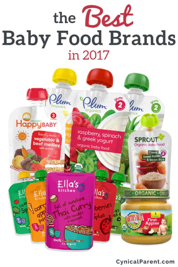 Best Baby Food Brands In 2017