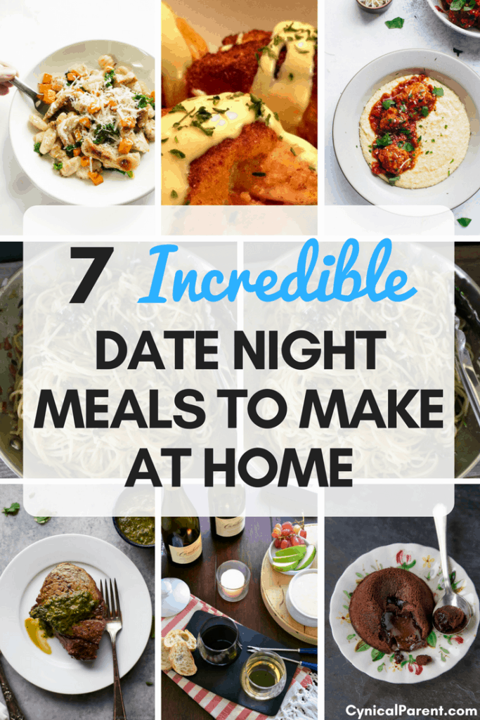 7 incredible date night meals to make at home while the kids are out