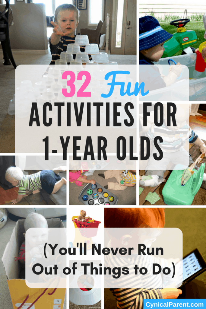 32 fun activities for 1 year olds you 39 ll never run out of for Painting ideas for 4 year olds