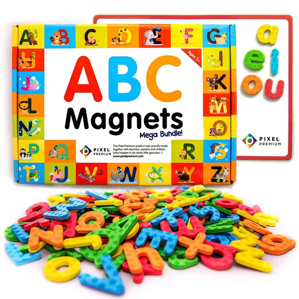 32 fun activities for 1 year olds you39ll never run out of for Magnetic letters for 1 year old