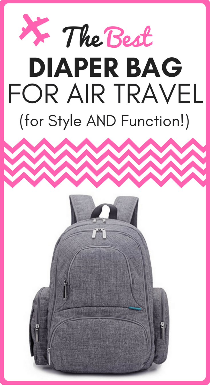 best diaper bag for air travel for style and function. Black Bedroom Furniture Sets. Home Design Ideas