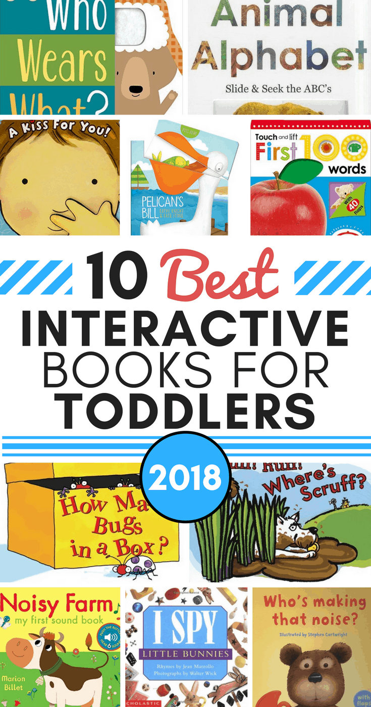 10 Best Interactive Books For Toddlers In 2018 Make Learning More Fun