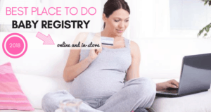 best place to do baby registry