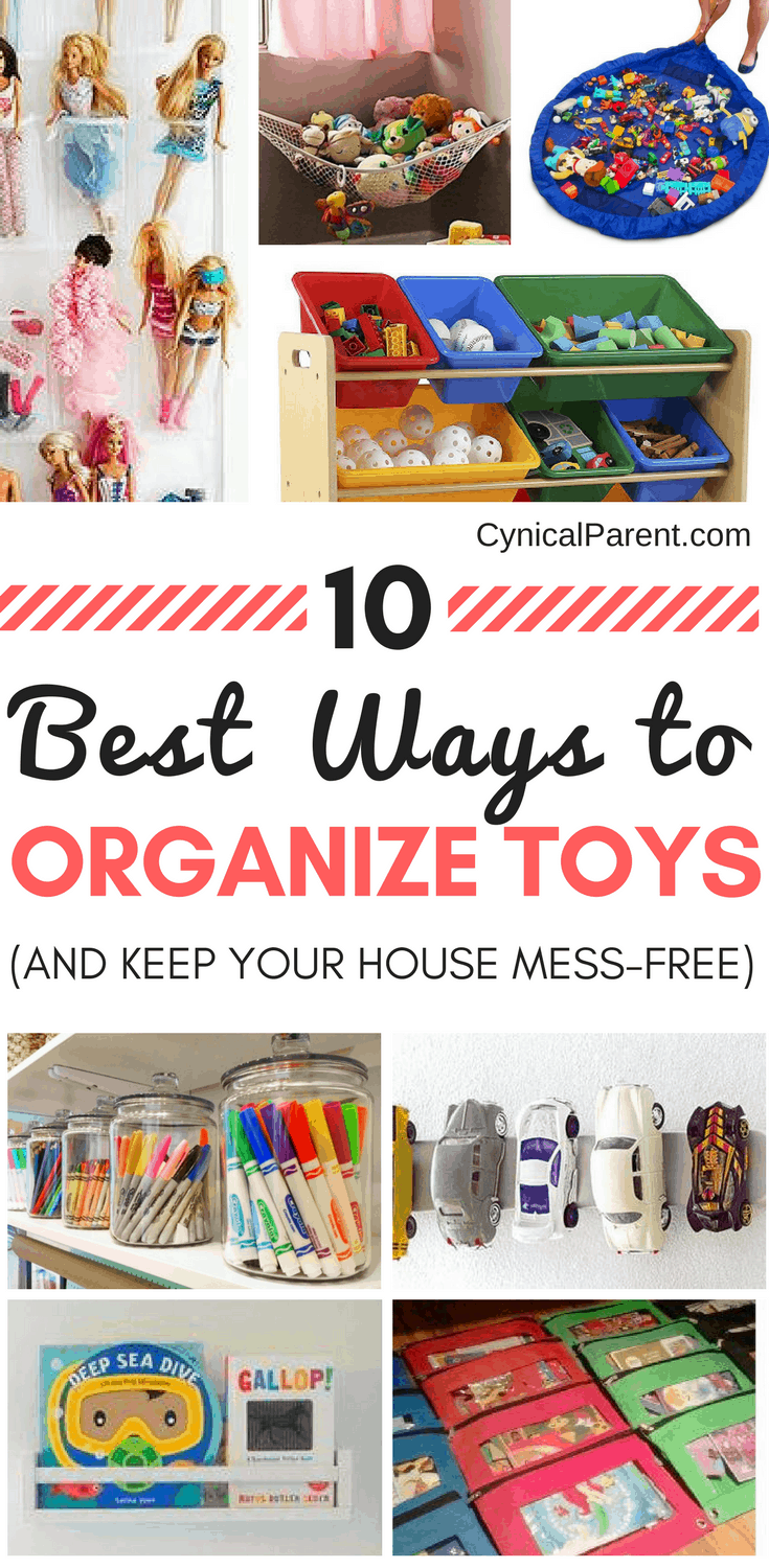 Have the toys taken over your home? Keep your home mess-free with these tips for the best way to organize toys, and reclaim your space again!