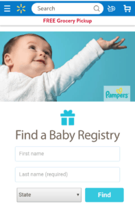 best place to do baby registry - walmart