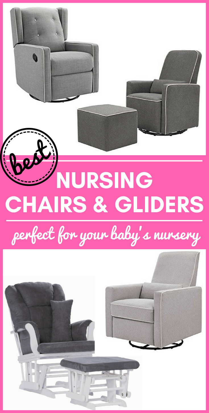 Finding the best nursing chair or best nursery glider for your baby's nursery can be a difficult task. We've narrowed down the choices and highlighted our top four - perfect for any budget.