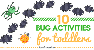 Does your little one love all things bug-related? We've found 10 fun and creative bug activities for toddlers that we think will be a big hit at your house!