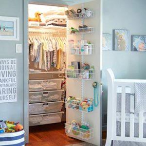 baby closet ideas - Clear Drawer Storage System