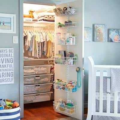baby closet ideas - Clear Drawer Storage System