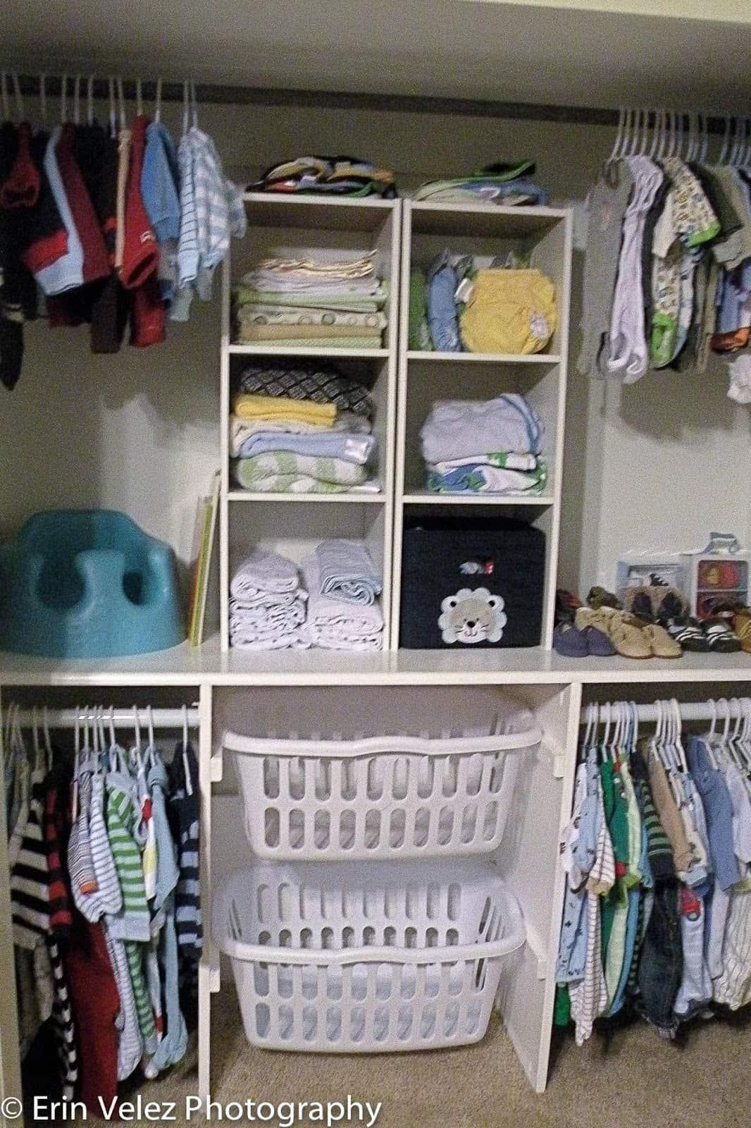 11 Genius Baby Closet Ideas To Really Organize The Nursery