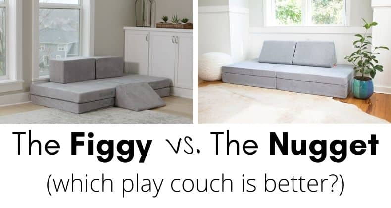 Figgy vs. the Nugget - which play couch is best? We review in detail across multiple different categories to give you our assessment!