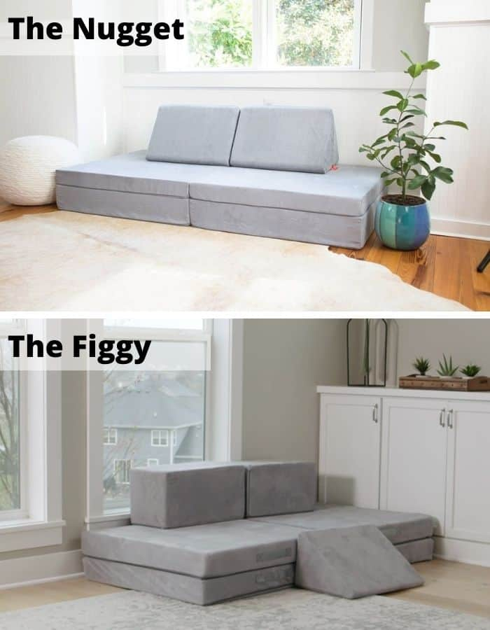The Figgy vs. the Nugget: Which Play Couch is Better?
