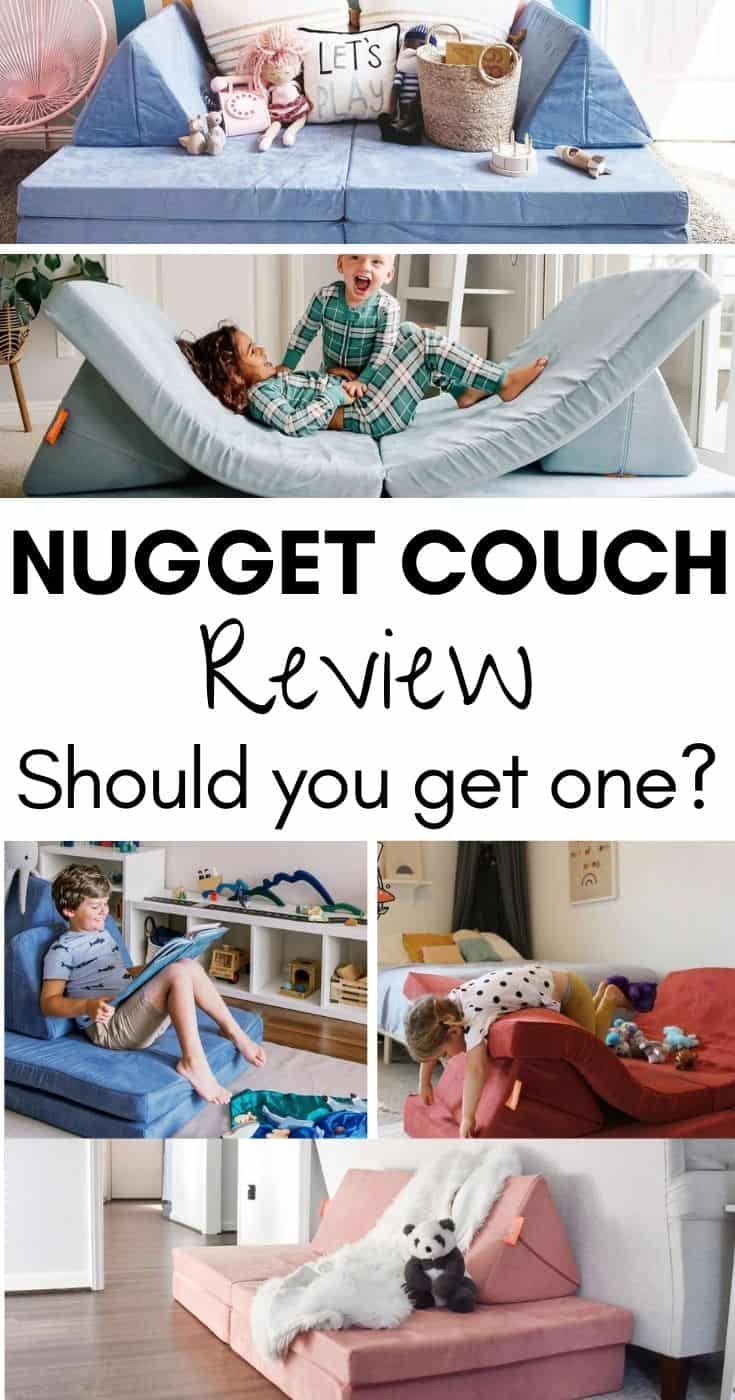 Nugget Couch Review: We've taken a deep look at the Nugget couch and will tell you all you need to know to decide if you should get one!