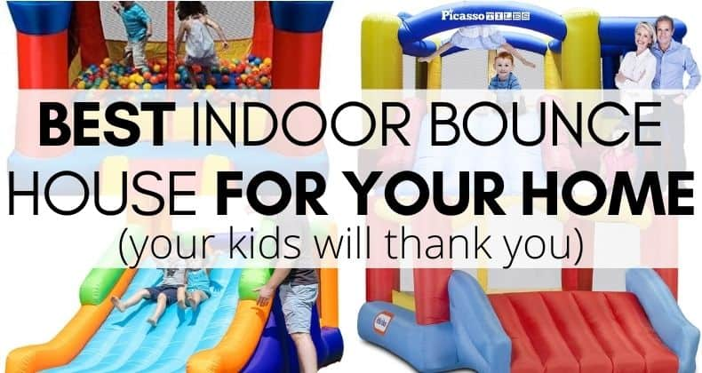 Best Indoor Bounce House for Home: We did the research and figured out the best bounce house that'll give your kids hours of fun indoors.