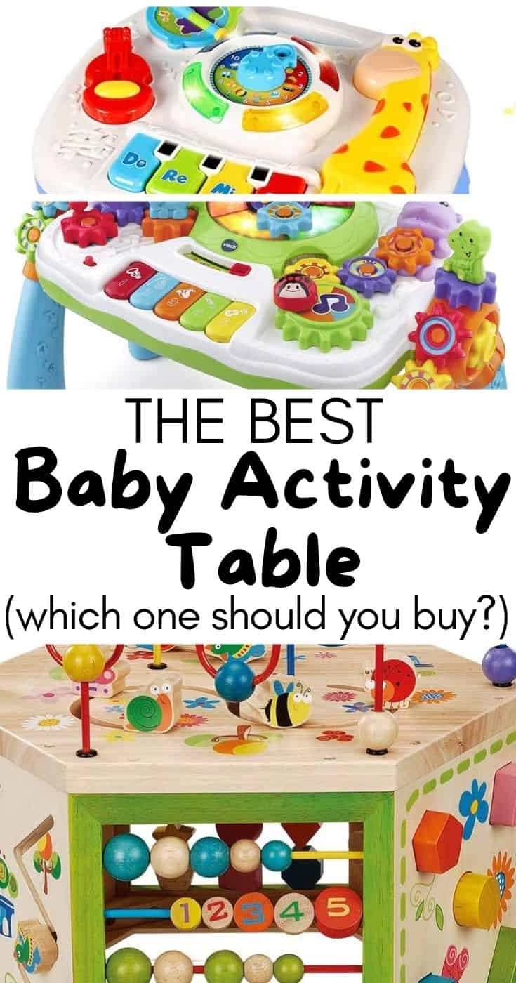 Best Baby Activity Table: Which one should you get for your baby? We did some research and found a few to consider - check it out!